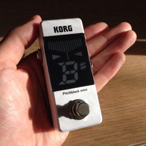 【最近買ったモノ:KORG Pitchblack mini】可愛いミニミニサイズチューナーの実力